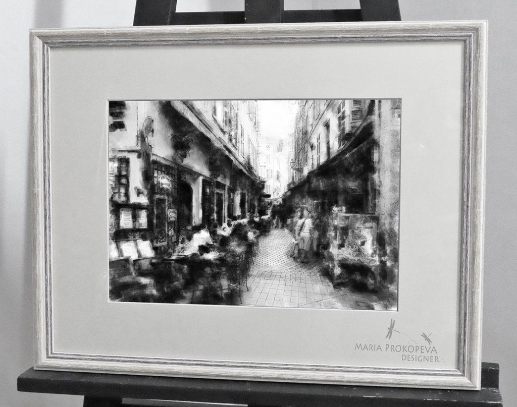 Уличное кафе на Монмартре