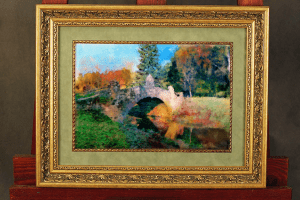 осень и мост