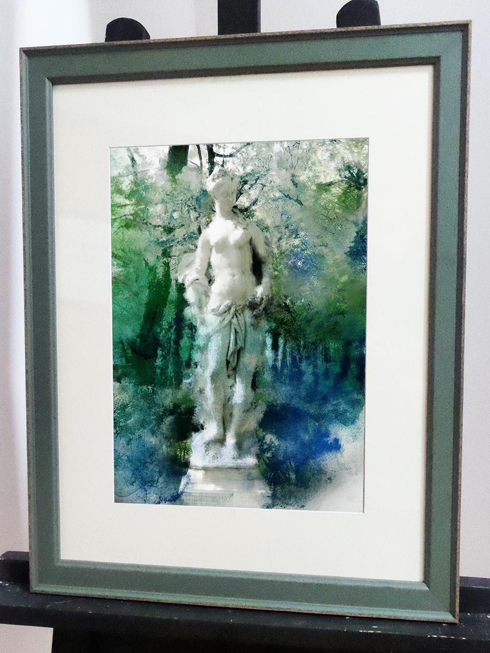 статуя летнего сада в багете