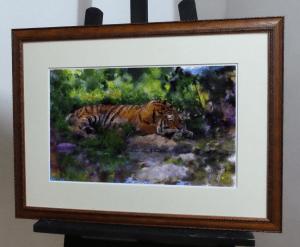 тигр в багете