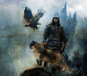 чингисхан и его белое облако