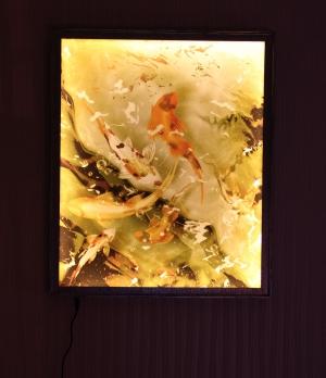 Японские рыбки - ночь