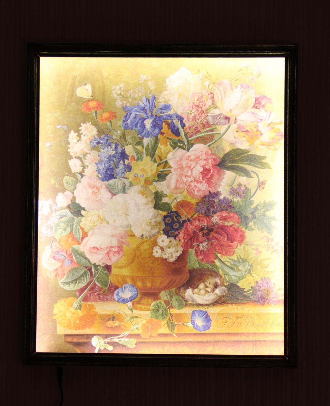 Натюрморт с цветами - ночь