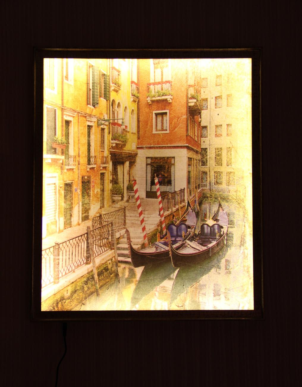 Каналы венеция - ночь